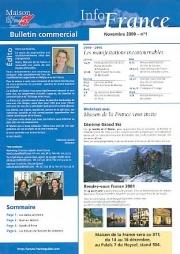 Newsletter Maison de la France